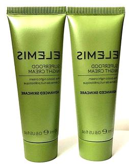 2 ELEMIS superfood night cream pre-biotic Sealed-New