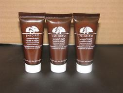 3 ORIGINS High Potency NIGHT-A-MINS Mineral Renewal CREAM .5