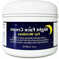 Anti Aging Night Cream Moisturizer for Dry Skin - Firming Cr