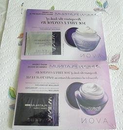 Avon Anew PLATINUM Day  and Night Cream Samples   Exp 03/202