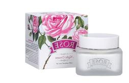 face rose night cream enriched with oil