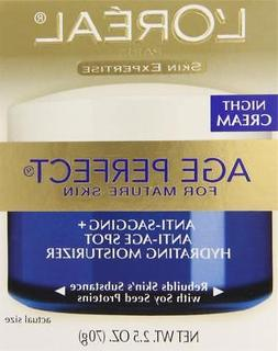 L'oreal Age Perfect Night Cream Facial Treatment for Mature