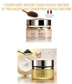 MISTINE CAVIAR NIGHT REPAIR TREATMENT+ WHITENING DAY CREAM S
