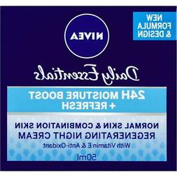 Nivea Daily Essentials Regenerating Night Cream 50ml Normal