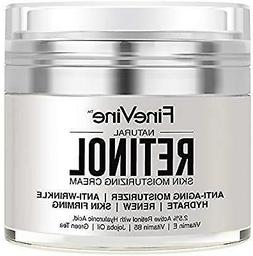 Retinol Moisturizer Cream for Face and Eye Area - Made in US