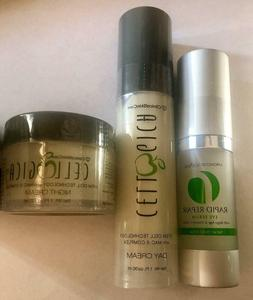 Cellogica Anti Aging Day & Night Cream & Eye Serum Stem Cell