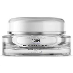 PURE Biology Anti Aging Night Cream - Reduce Appearance of W