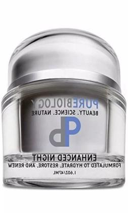 Pure Biology Anti Aging Night Cream w/ Pure Retinol Hyaluron