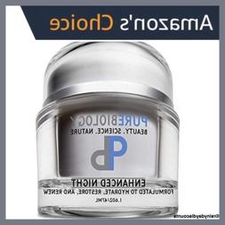 Pure Biology Anti Aging Night Cream With Moisturizer For Fac