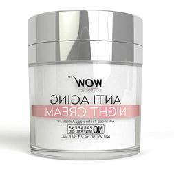 WOW Anti Aging No Parabens & Mineral Oil Night Cream, 50mL