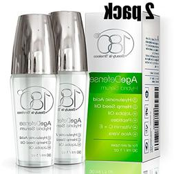 Anti Aging Serum Age Defense - Pack of 2 - by 180 Cosmetics
