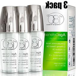 Anti Aging Serum Age Defense - Pack of 3 - by 180 Cosmetics