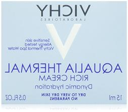 Vichy Aqualia Thermal Rich Cream Face Moisturizer for Dry Sk