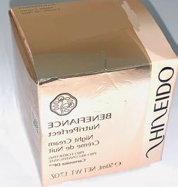 Shiseido Benefiance NutriPerfect Night Cream 1.7oz/50mL•AN