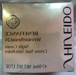 Shiseido Benefiance WrinkleResist24 Night Cream 1.7oz/48g An