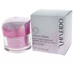 BRAND NEW SEALED SHISEIDO WHITE LUCENT MULTIBRIGHT NIGHT CRE