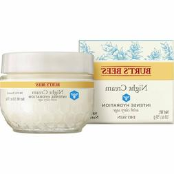 Burt's Bees Intense Hydration Night Cream, Moisturizing Nigh