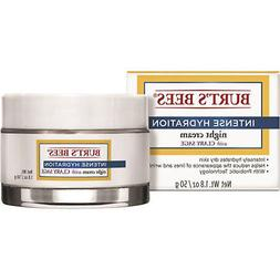 Burt's Bees Intense Hydration Night Cream Moisturizing Lotio