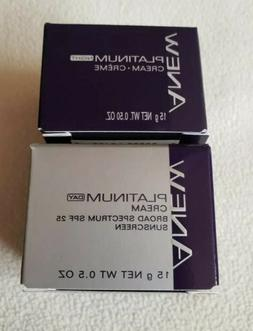 ANEW Platinum DAY & NIGHT Creams TRAVEL SIZE NEW!