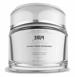 PURE BIOLOGY Enhanced Night Cream Formulated 2 Hydrate, Rest
