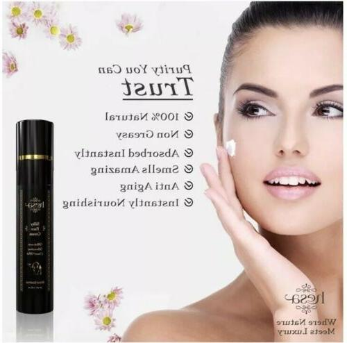 100% Natural Face with Argan Wrinkles Night