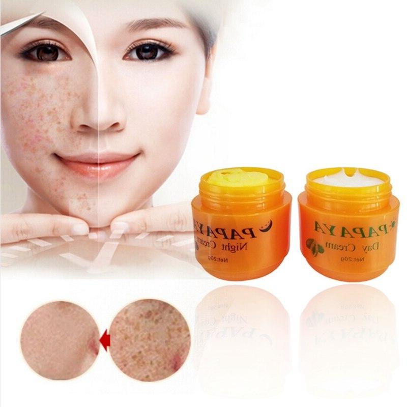 Day <font><b>Cream</b></font> <font><b>Night</b></font> <font><b>Cream</b></font> Papaya Improve Dark Skin Care 2Pcs/Set