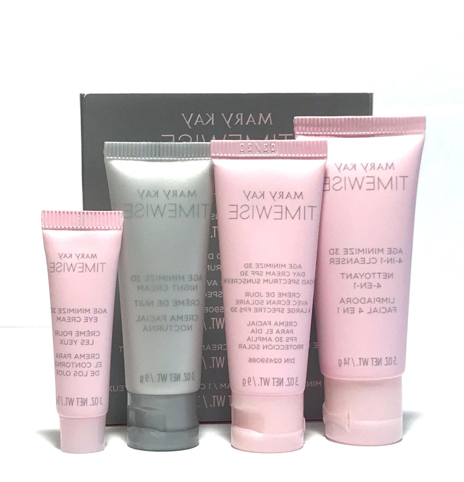 MARY KAY 3D AGE CHOOSE~SKIN CLEANSER~DAY~NIGHT~EYE CREAM!