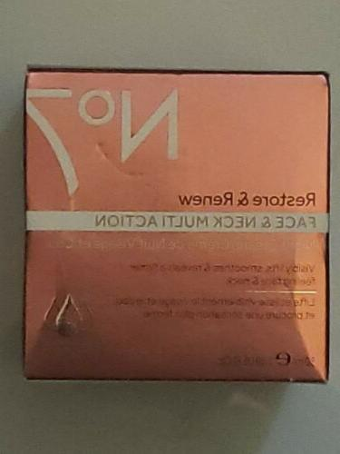 No7 Restore and Renew Face and Neck MULTI ACTION Night Cream