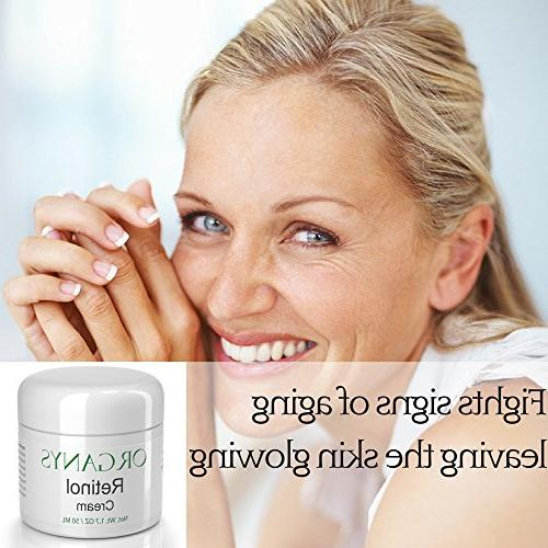 Organys with Hyaluronic Acid Vera. Aging Wrinkles, Uneven Fine Lines A Natural Anti Wrinkle Day Night