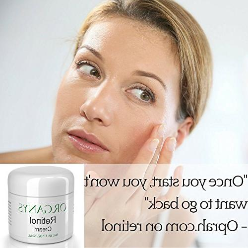 Organys with Hyaluronic Acid Vera. Aging & Moisturizer For Wrinkles, Uneven Tone, Lines A Natural Selling Anti Day