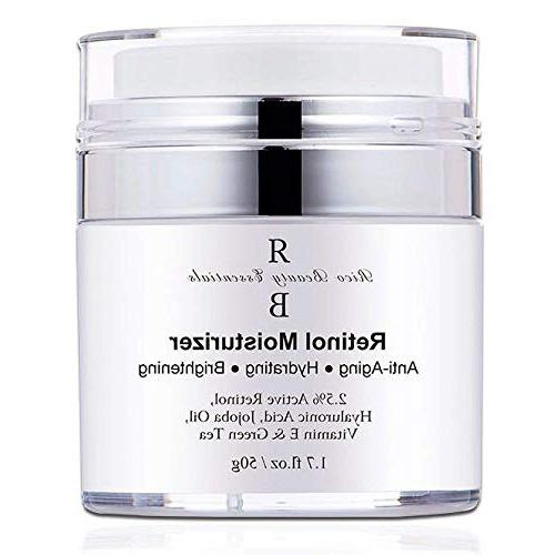 Retinol Moisturizer Cream for Face – With Retinol , Hyalur
