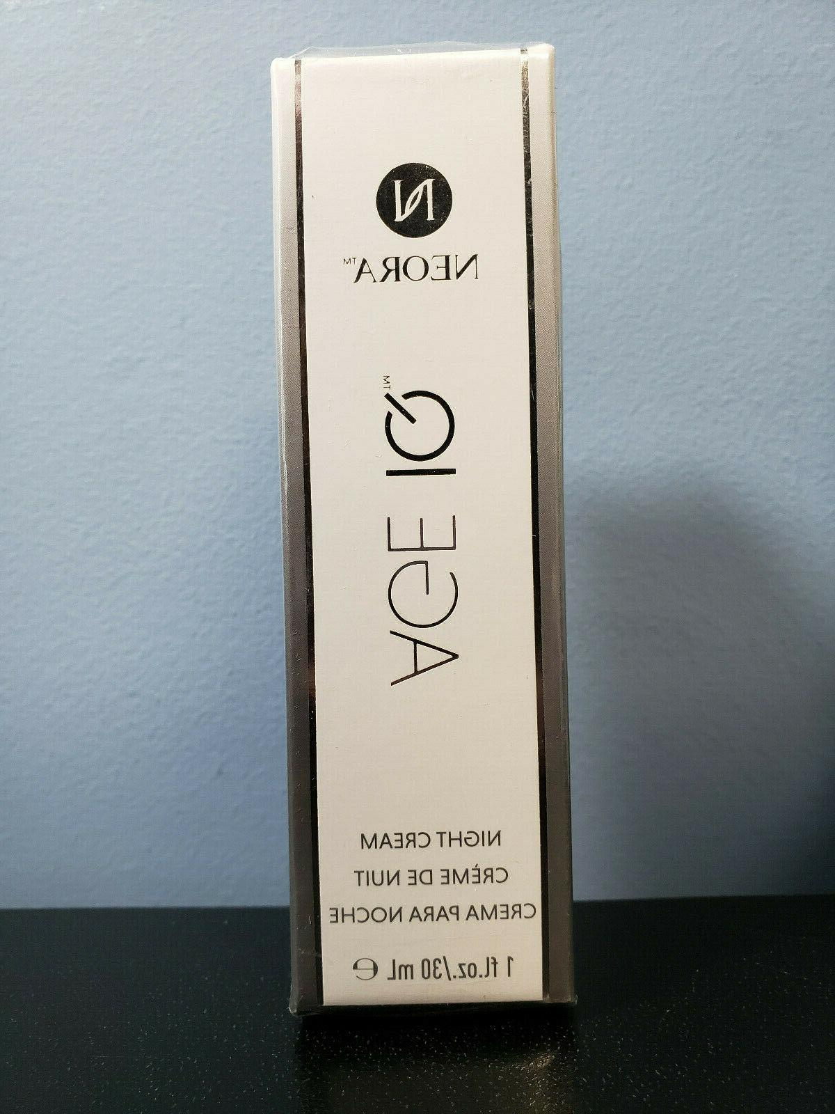 age iq night cream 1 oz new