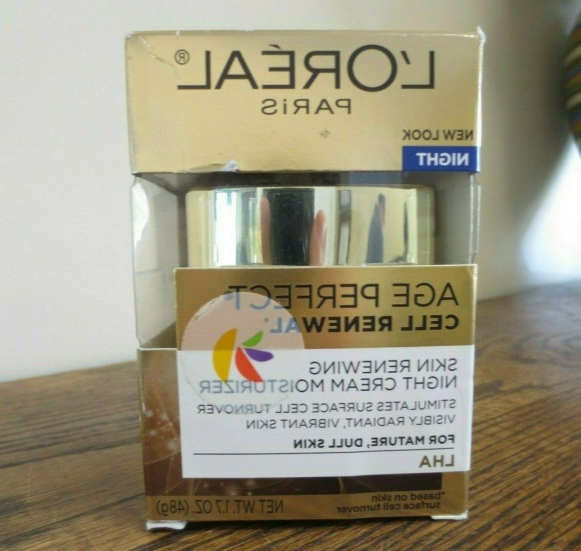 age perfect cell renewal moisturizer