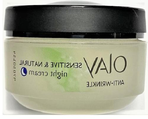 anti wrinkle night cream sensitive and natural