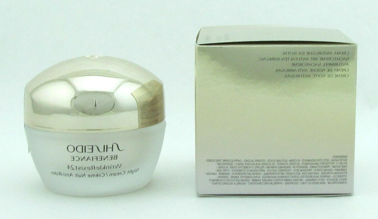 Shiseido Benefiance WrinkleResist24 Cream in
