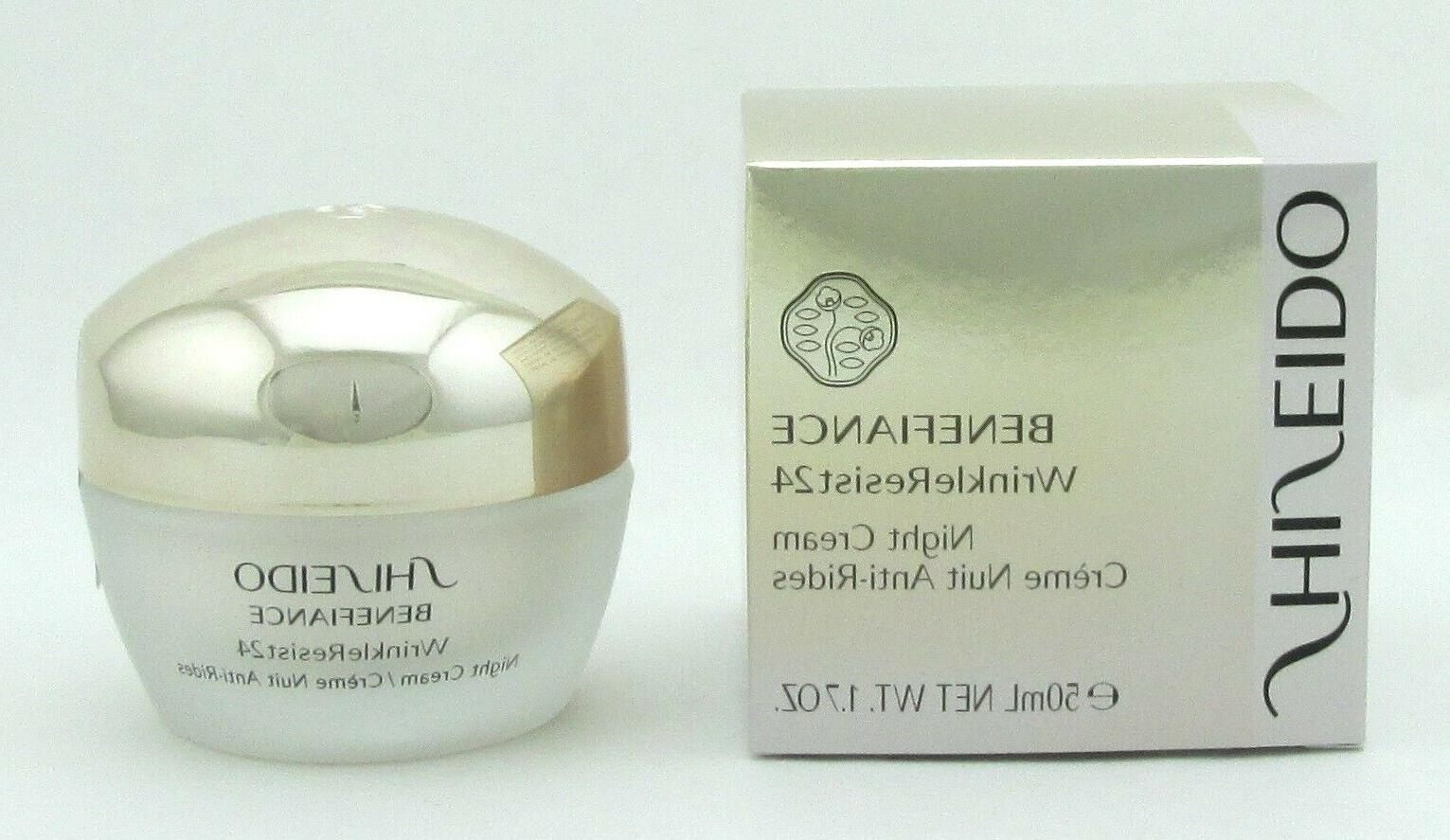 benefiance wrinkleresist24 night cream 1 7 oz