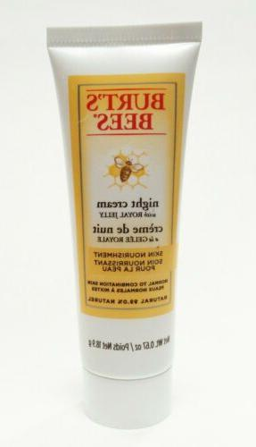burt s bees night cream skin nourishment