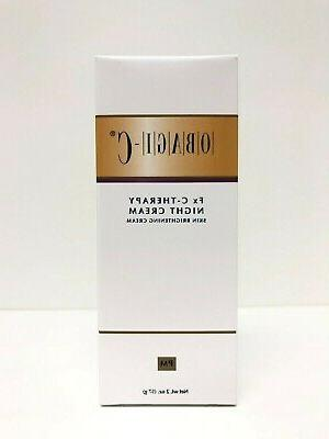 c therapy night cream 2 oz new