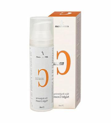 c white night cream 75ml 2 54fl