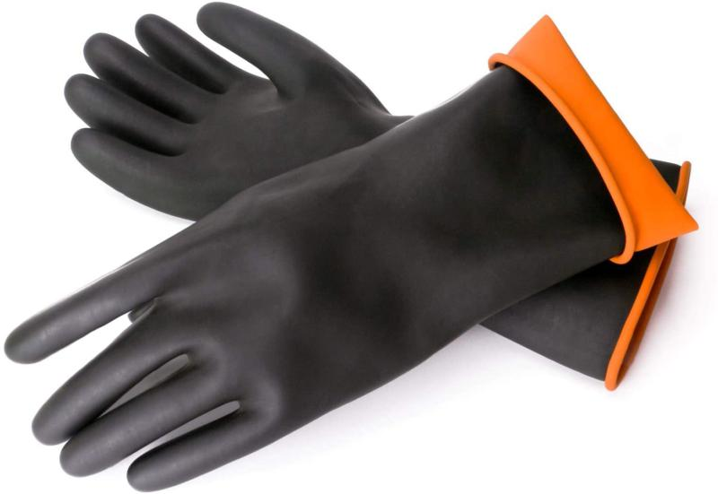 Chemical 3 Enpoint 13.7 Inches Duty Latex Gloves Resist Stro