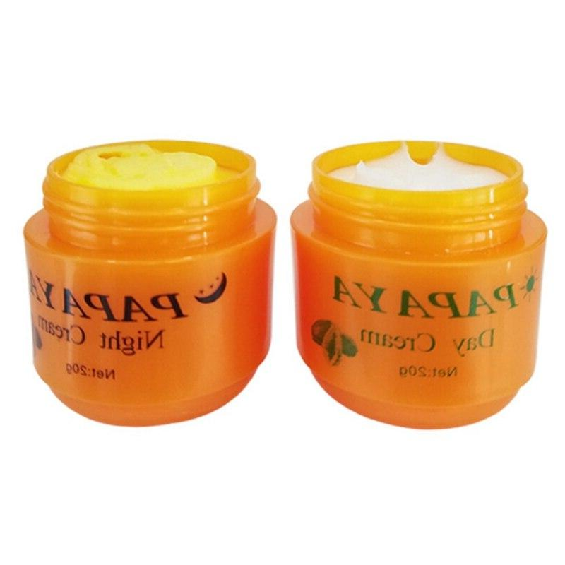 Day <font><b>Night</b></font> <font><b>Cream</b></font> Whitening Face <font><b>Cream</b></font> Anti Improve Dark Skin Care 2Pcs/Set 20g