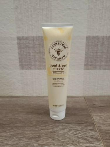 BURTS BEES Mama Bee Leg And Foot Creme, 96 GR