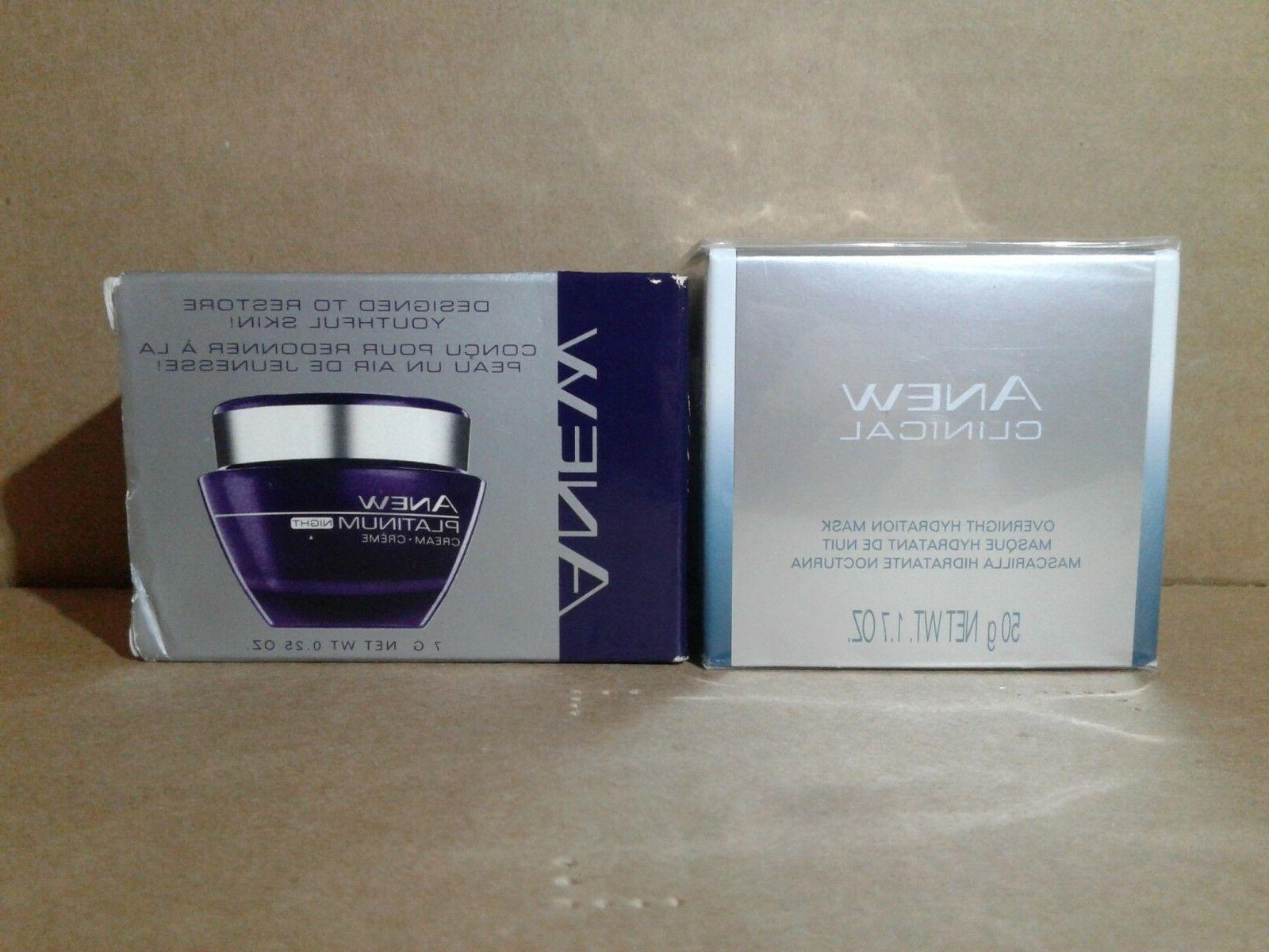 Mini - Avon Anew Clinical Overnight Hydration Mask and Anew