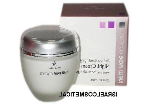 new age control active beautifying night cream