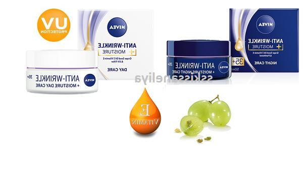 New NIVEA Day or Night Face Cream 35+   Anti-Wrinkle + MOIST