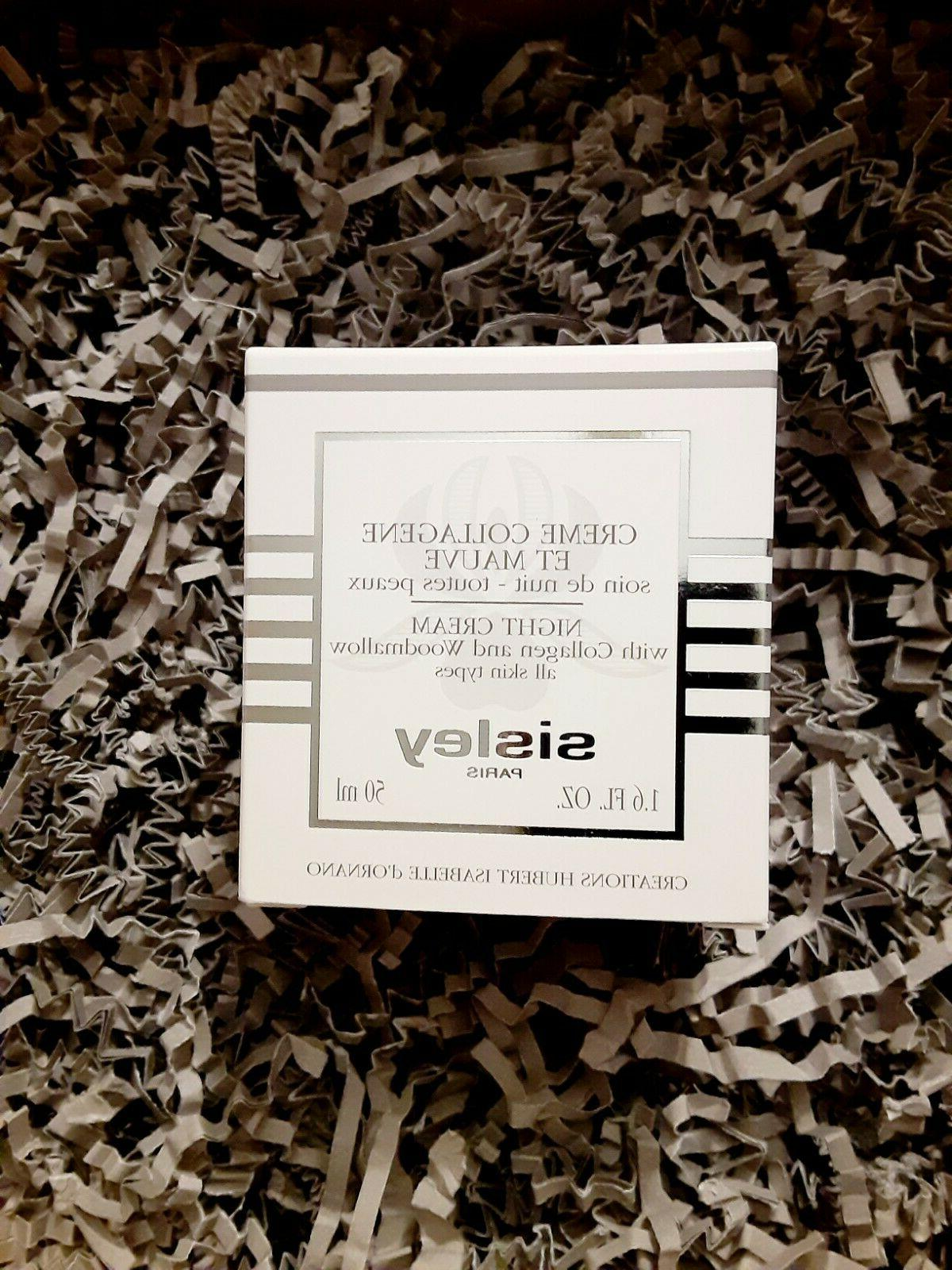 night cream with collagen and woodmallow luxury