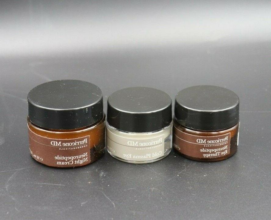 perricone neuropeptide eye therapy and night cream