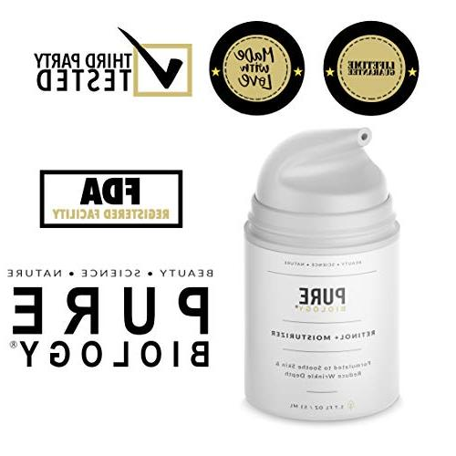 Premium Moisturizer Hyaluronic Acid, Vitamin A, & & Anti Aging Complexes – Face and Eye Men