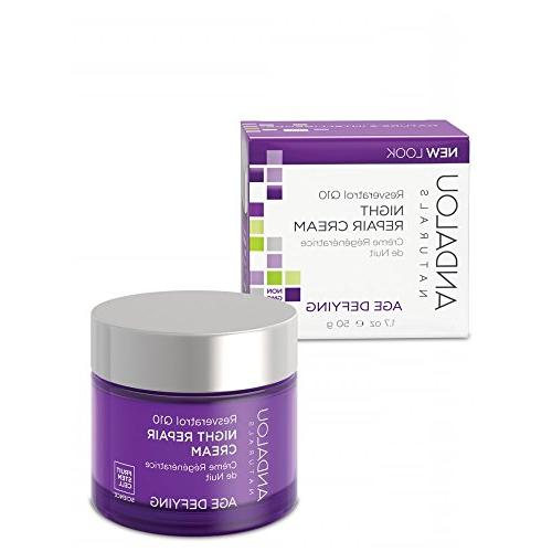 resveratrol q10 night repair