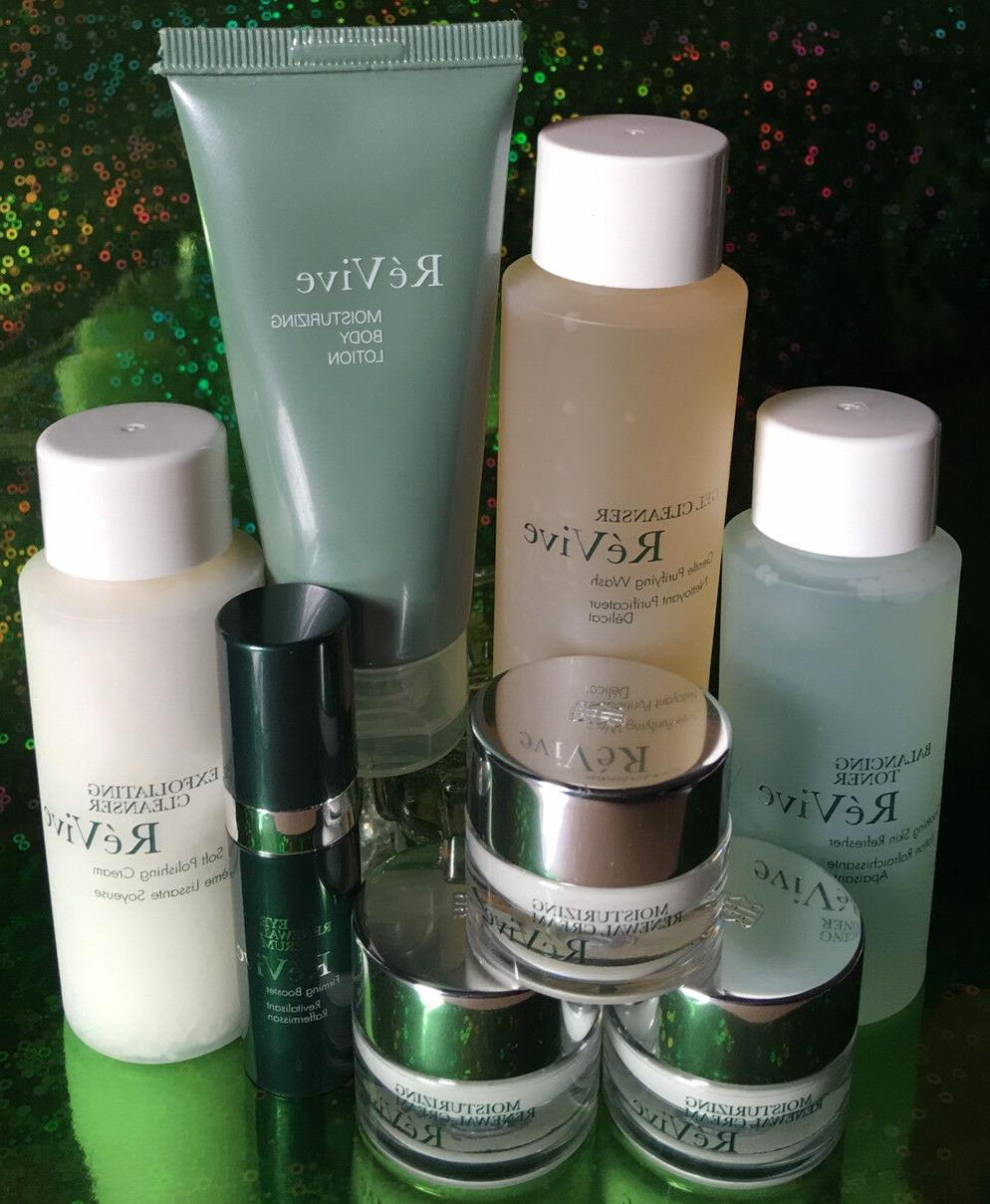 RE'VIVE MINI DELUXE CLEANSERS, NIGHT SERUM